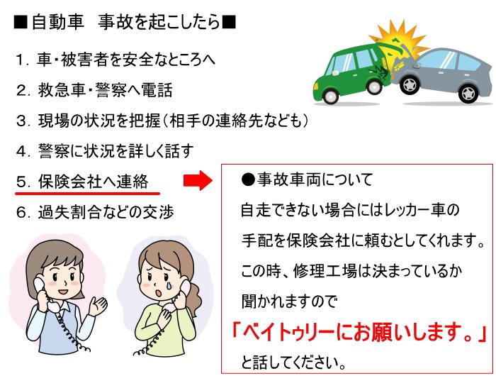 保険で修理 自動車