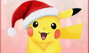 ポケモンGOのクリスマスバージョン ピカチュウ