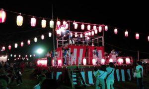 8月11日 誉田町二丁目盆踊り大会