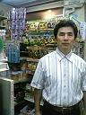 モキ製作所のクッキングストーブ販売の店長の挨拶